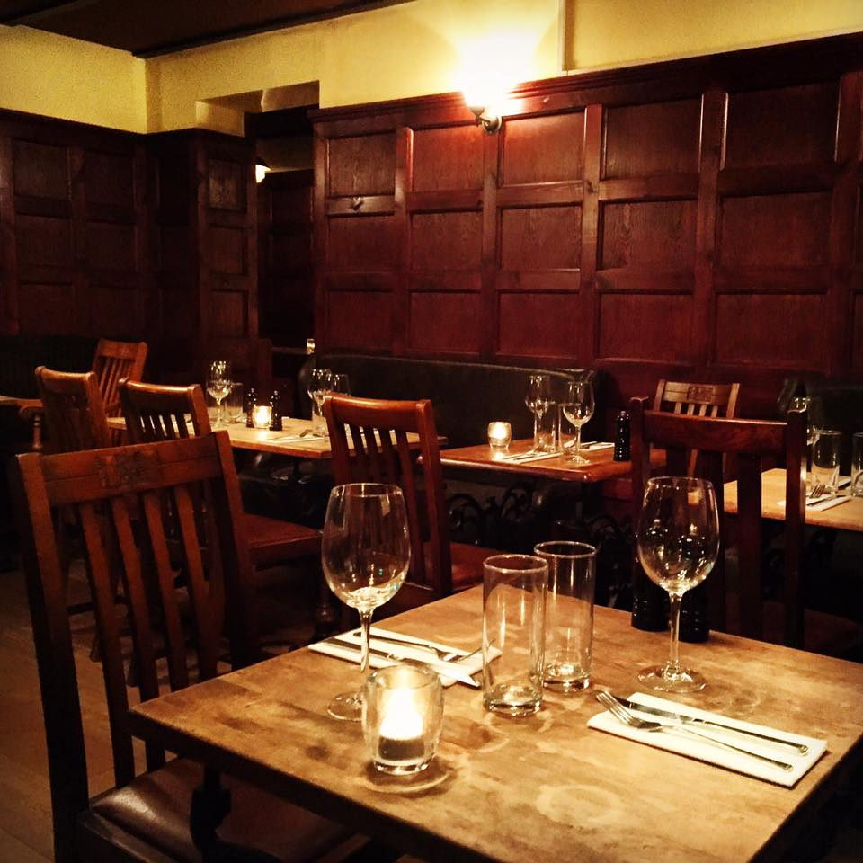 Wood Panelled Dining Room The Swan